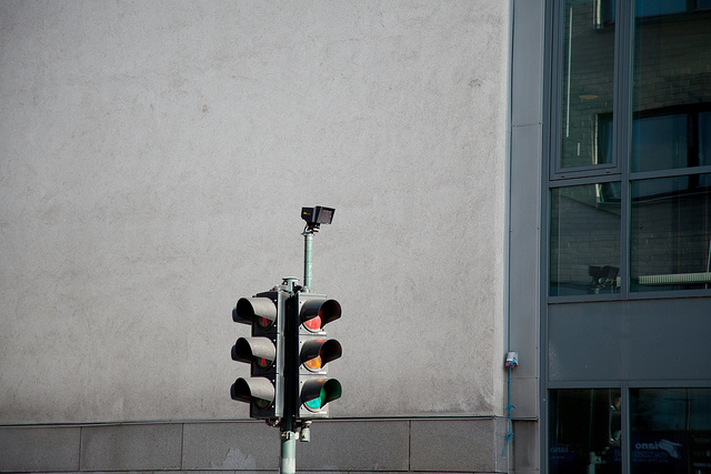 Traffic lights and sensor