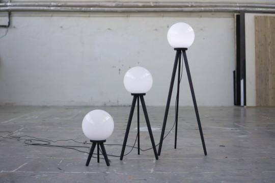 Satellite Lamps trio